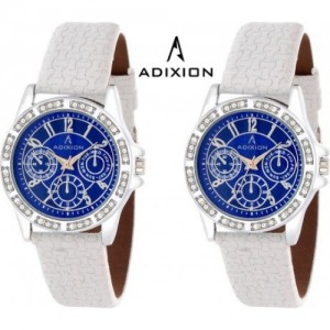 Adixion AD9401SL0404 NEW Chronograph Pattern Watch  - For Women