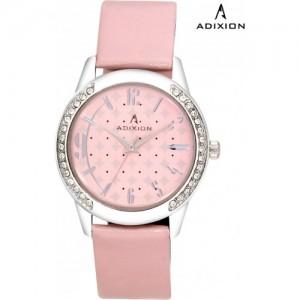 Adixion 9406SL06 New Generation Steel Back BRACE Case Watch  - For Women