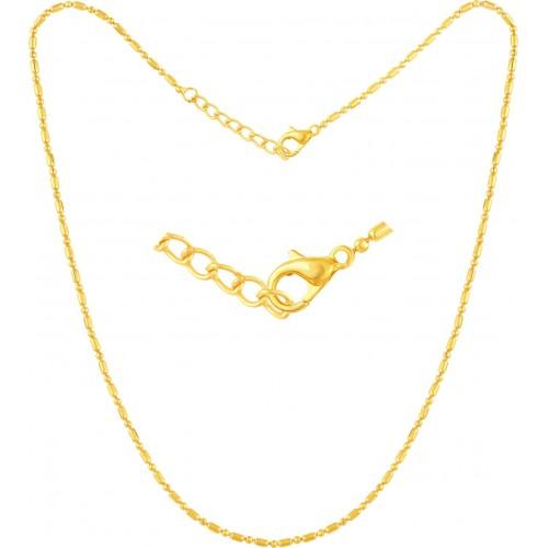 VK Jewels Shree 18K Yellow Gold Cubic Zirconia Alloy Pendant