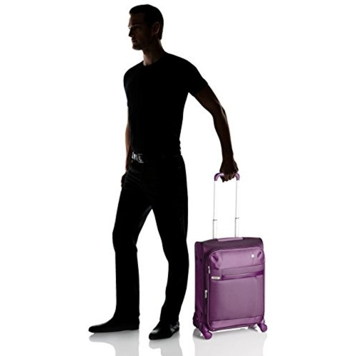 VIP Cyprus Nylon 44 Ltrs Purple Carry-On (STCYPW56PPL)