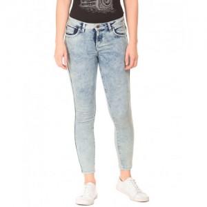 Cherokee Acid Wash Skinny Fit Jeans