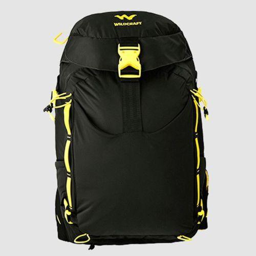 Wildcraft Vapra 24 L Backpack(Black, Yellow)