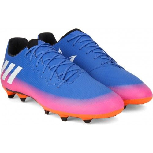 Buy Adidas MESSI 16.3 FG Blue   Pink Football Shoes online ... 9377986c4
