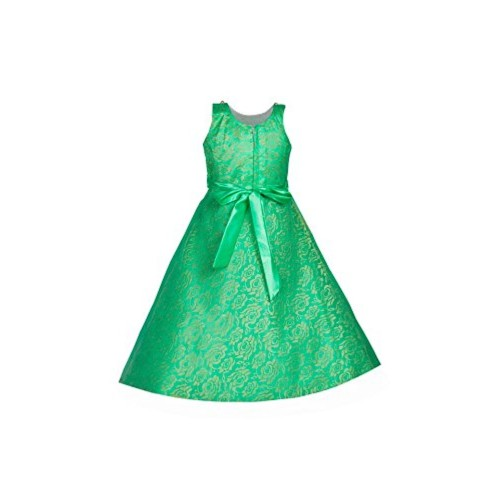 My Lil Princess Girls' Net & Satin Dress