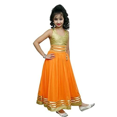 Buy Evening Yellow Gown Flower Girl Dressfor Kids Online Looksgudin