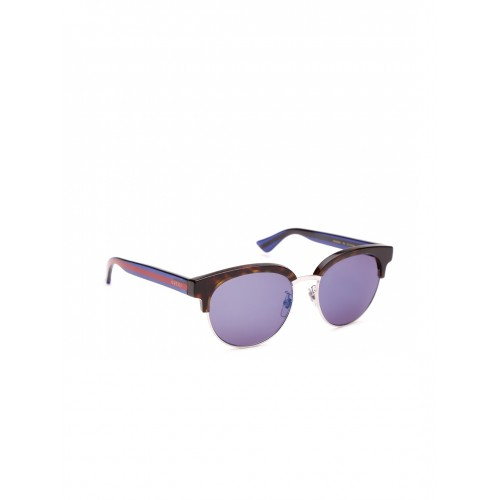 9e915cdae5a Buy Gucci Women Mirrored Clubround Sunglasses GG 0058 SK 004 ...