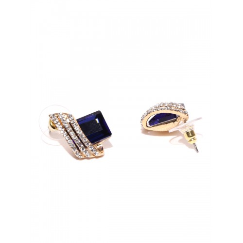 Jewels Galaxy Luxuria Swarovski Crystal Alloy Clip-on Earring