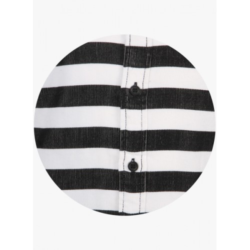 United Colors of Benetton. Boys Striped Casual Black, White Shirt