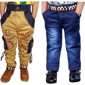 791864297521e1 Buy latest Boys's Jeans & Trousers from AD & AV On Flipkart online ...