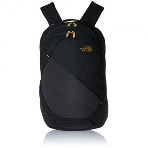 The North Face Women's Isabella Backpack TNF Black Heather/24k Gold One Size