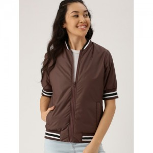 dd9d1edd38f9 Buy Nike Women Peach-Coloured Solid AIR N98 JKT PK Bomber online ...