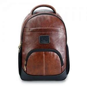 The Clownfish Signature Series 25 litres | Laptop Bag |Travel Backpack |Backpack |School Bag (Brown)