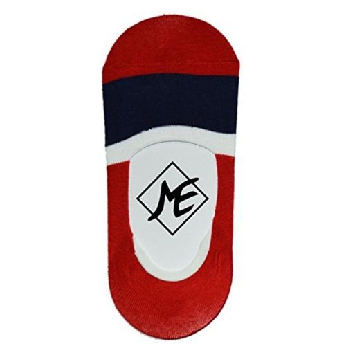 Me Stores Men's Solid Socks (Pack Of 1) (Loaf-2Tplain-Red_Multicolor)