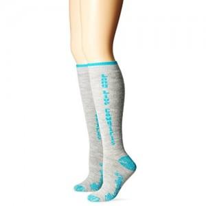 Wrangler Women's Long Live Cowgirls Boot Socks 2 Pair Pack