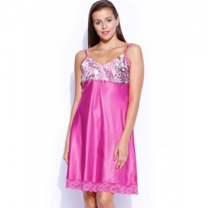 Enamor Pink Baby Doll Nightdress N063