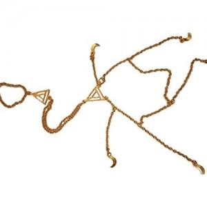 Namo Guranteed Anika Golden Bracelet / Ishqbaaz_Stuffs