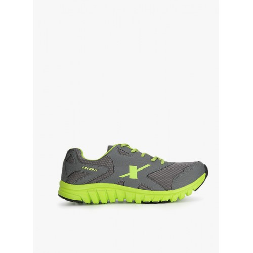 Sparx SM-185 Running Shoes For Men(Green, Grey)