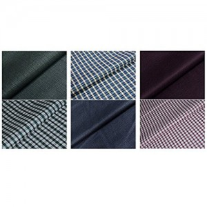 Kundan Sulz Gwalior Mens Shirt & Trousers Dress Material (Multi-color)(Set of 3)