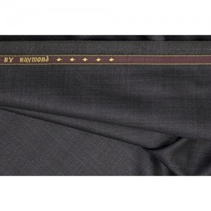 Raymond Quest Design Trouser Fabric 1Pc 1.3Meter Trouser Length for Men's Solid Grey