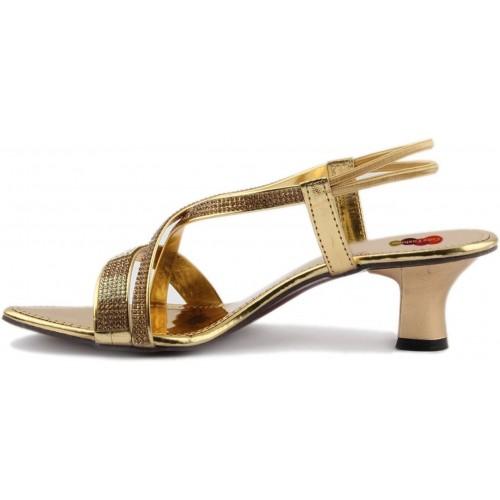 Cute Fashion Women Copper.Golden Heels
