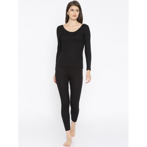 Kanvin Balck Thermal Top