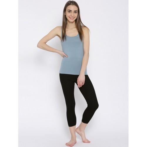 Kanvin Black Thermal Leggings
