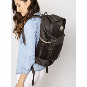 Roadster Brown Synthetic Leather Backpack