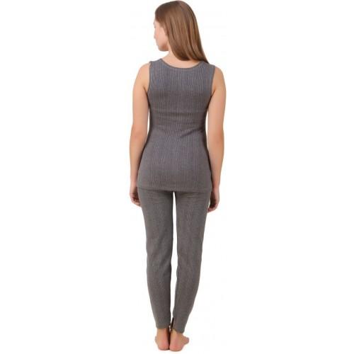 HAP Kings Quilted Thermal Women's Top - Pyjama Set