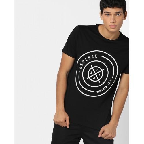 AJIO Graphic Print T-Shirt