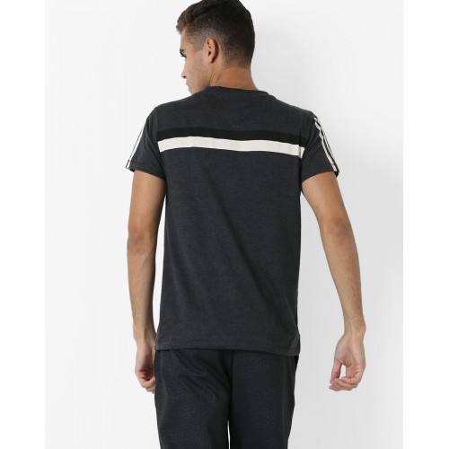 DIFFERENCE OF OPINION Cotton T-shirt with Stripes