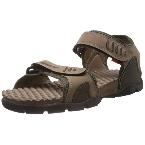 34ad5d137 Buy Sparx Men s Olive and Camel Brown Sandals and Floaters online ...