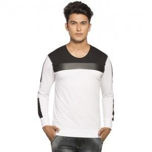 Maniac colour block cotton t-shirt