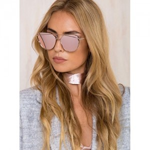 Generic Pink Metal Cateye Sunglasses(Ce02|Pink)