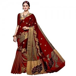 Vatsla Enterprise Women's Cotton Saree