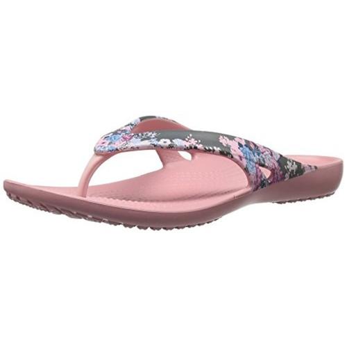 3920fa7bfc8fda Buy Crocs Women s Kadee Ii Graphic W Flip Flop online