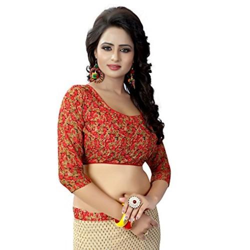 Kanchan Women Wedding Printed Soft Georgette Trend Saree For Ladies & Girls (KTPADING RAMA_Multi Coloured)