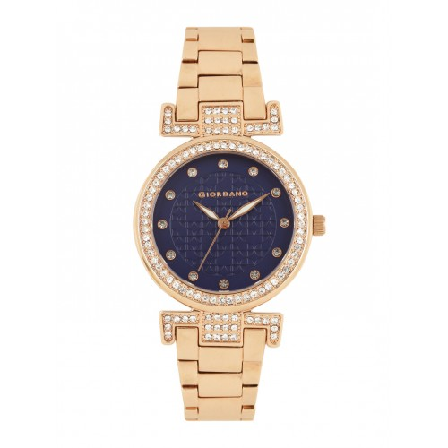 GIORDANO Women Navy Blue Analogue Watch A2057-55