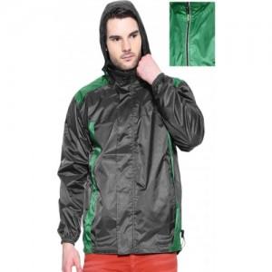 Sports 52 Wear Sw1295 Solid Men's Raincoat