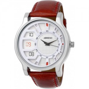 Abrexo Abx-1178WHT (Casual+Formal+Partywear) Exclusive Ring Series Watch  - For Boys