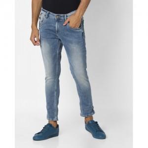 SPYKAR Ankle-Length Skinny Fit Jeans