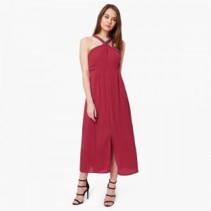 CODE Embellished Halter Neck Dress