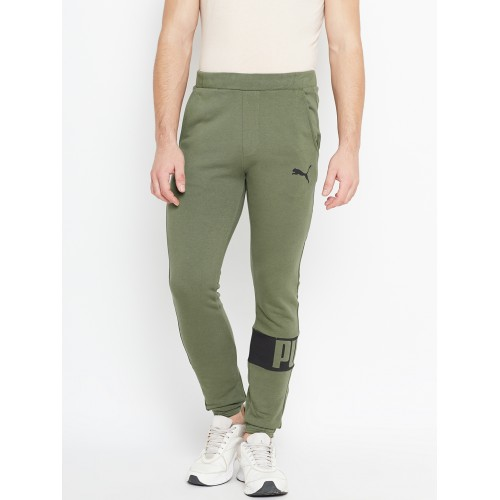 40ce6f9cc2 Buy Puma Olive Green Rebel Sweat Joggers online | Looksgud.in