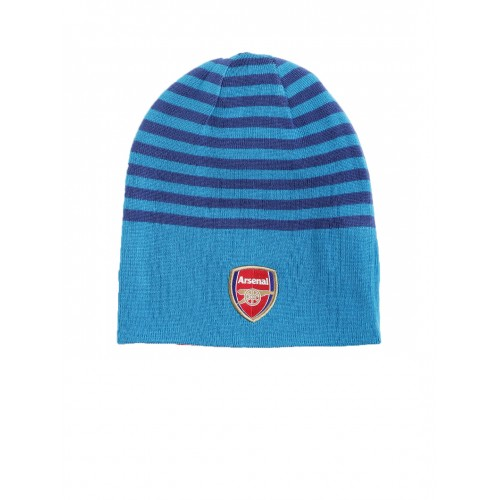 d972dc2186db9 Buy Puma Unisex Red   Blue Arsenal Striped Reversible Beanie online ...