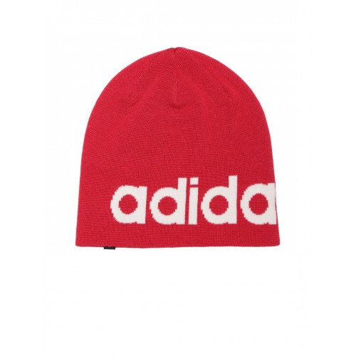 3ab7fbc78a91a Buy Adidas NEO Unisex Red Logo SD Beanie online | Looksgud.in
