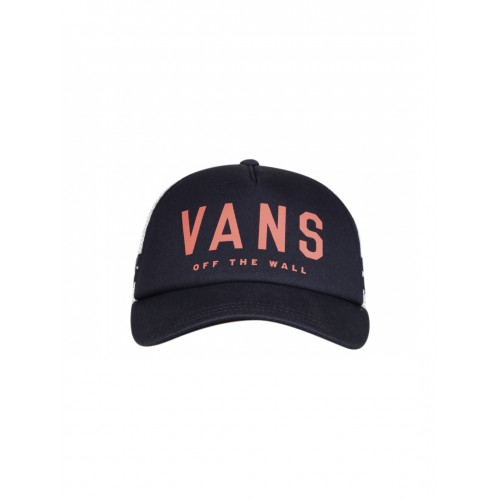 0ed93f1c03 ... Trucker Cap  Vans Women Navy   White Colourblocked Ol Sport Trucker ...