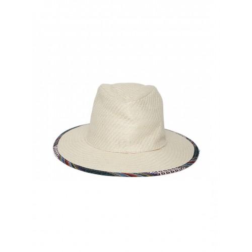 07c91142 Buy FOREVER 21 Women Beige Patterned Sun Hat online | Looksgud ...