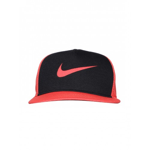 d1314cb692b5bd Buy Nike Unisex Red & Black NSW True LBL SSNL Cap online ...