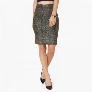 CODE Shimmer Pencil Skirt