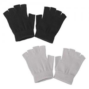 Phenovo  Anti Slip Half Finger Cotton Gloves