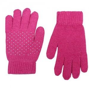 Romano Pink Warm Winter Gloves